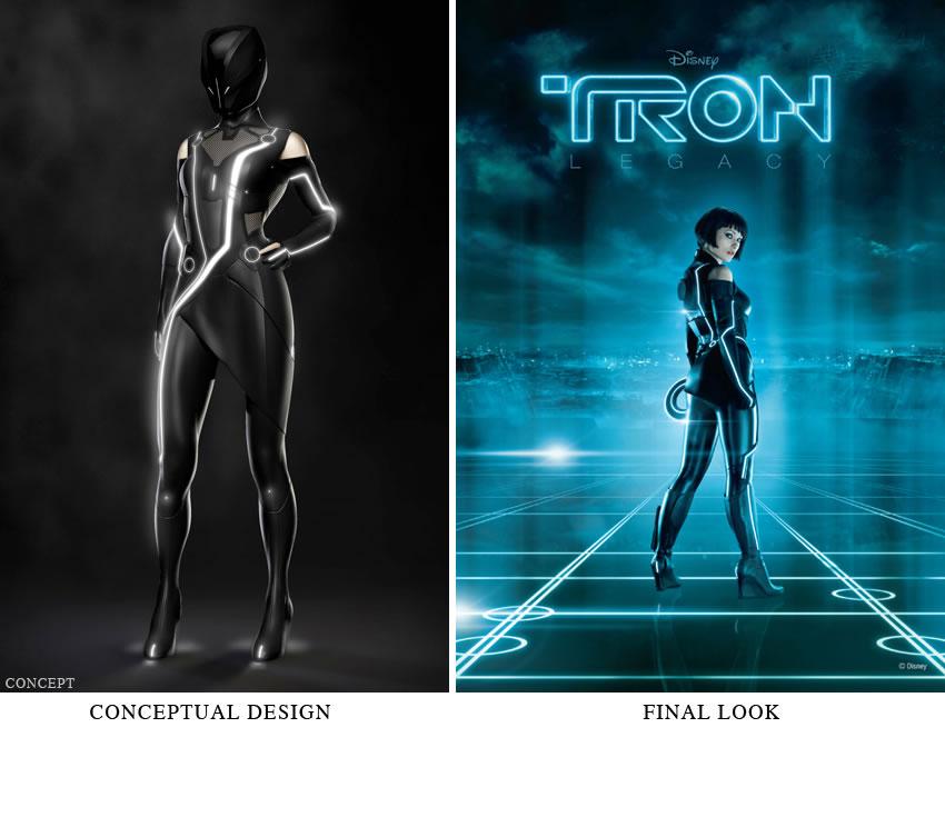 Joseph Kosinski's Tron Legacy Concept Art To Final Designs